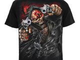 Five Finger Death Punch – Assassin – Men's Black T-Shirt (Size L)
