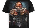 Five Finger Death Punch – Game Over – Men's Black T-Shirt