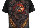 Dragon Furnace T-Shirt Black