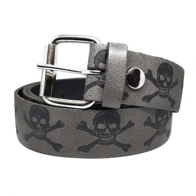 Skull & Crossbones Unisex Belt