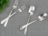 Skull & Finger Stainless Steel Fork & Spoon Set