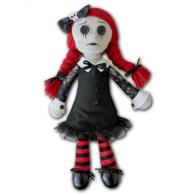 Luna the Goth Rag Doll