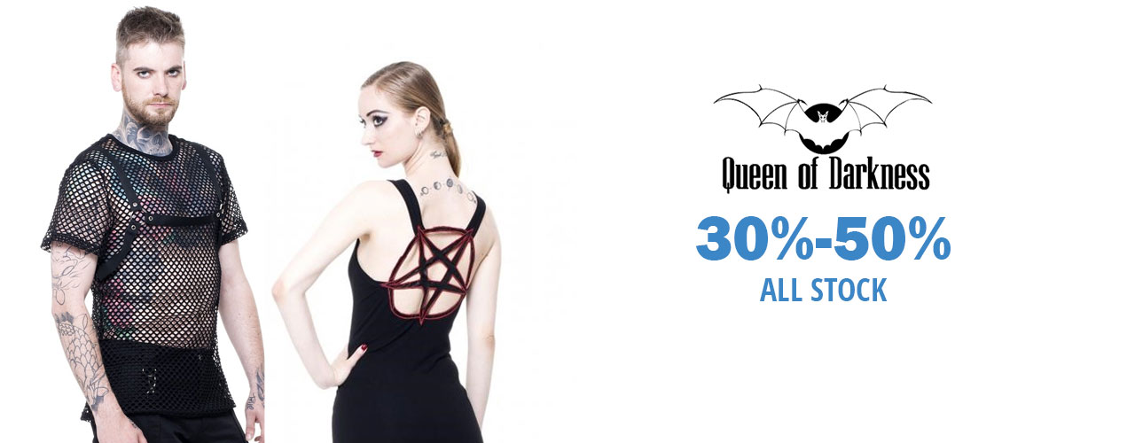 Gothic Clothing- Queen of Darkness Sale
